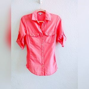 James Perse Button Down Shirt Size 2